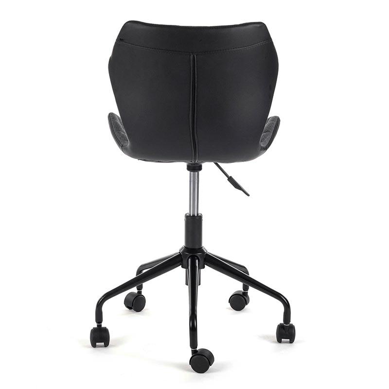 Burostuhl-Arbeitsstuhl-Drehocker-my-sit-grau-schwarzRollhocker-Drehstuhl-