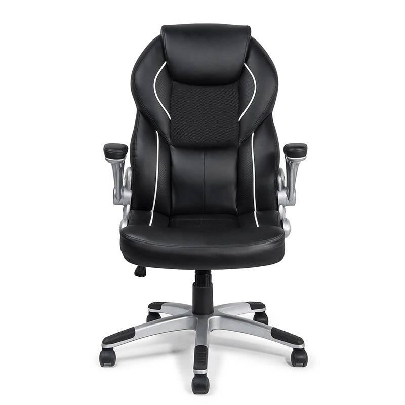 Chefsessel-Schreibtischstuhl-Drehstuhl-Design-Kunstleder-Stuhl-Schwarz-my-sit-2