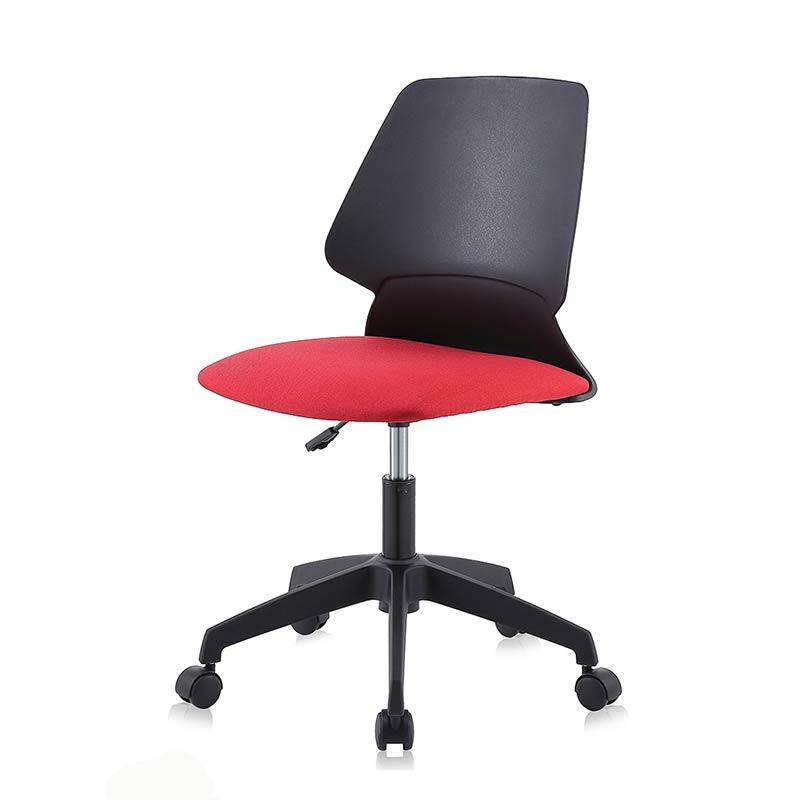 Chefsessel-Schreibtischstuhl-Drehstuhl-Design-Stoff-Stuhl-Schwarz-Rot-my-sit-retro