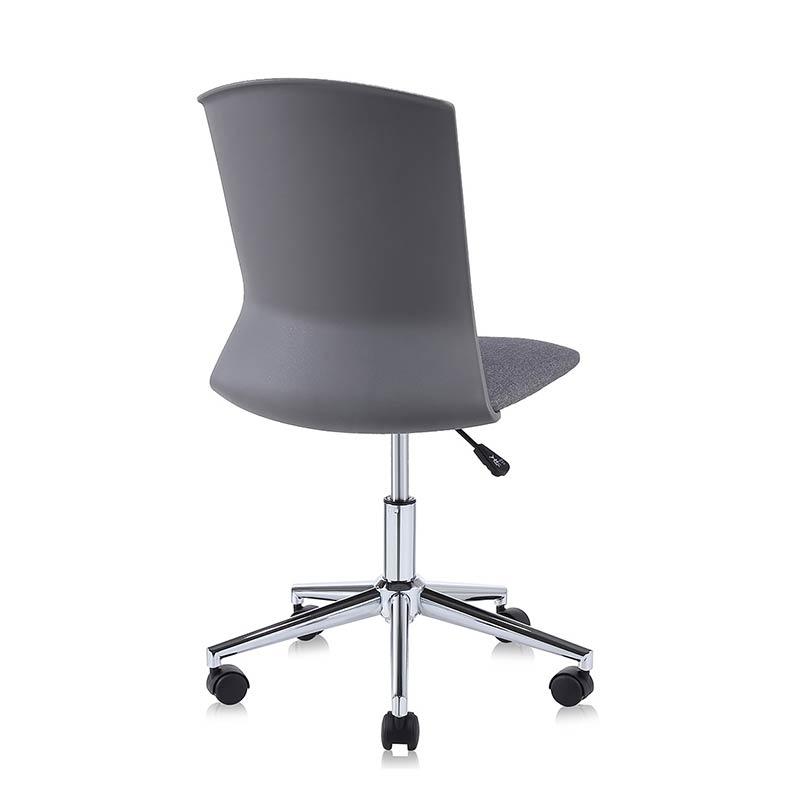 Chefsessel-Schreibtischstuhl-Drehstuhl-Design-Stoff-Stuhl-grau-my-sit-retro