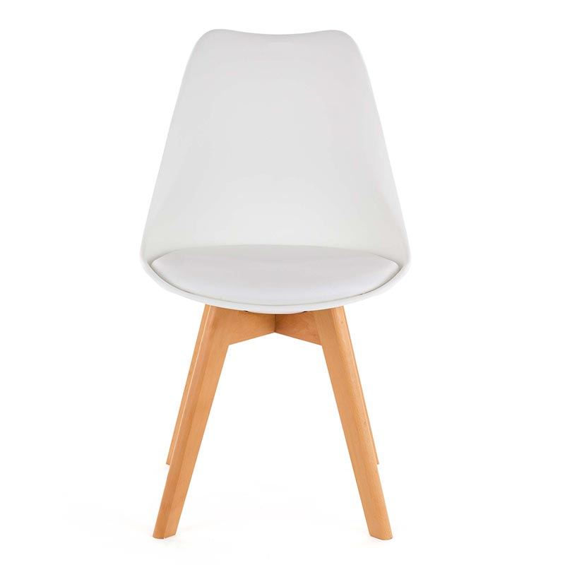 My sit retro stuhl design stuhl zura in wei my sit for Esszimmerstuhle bequem