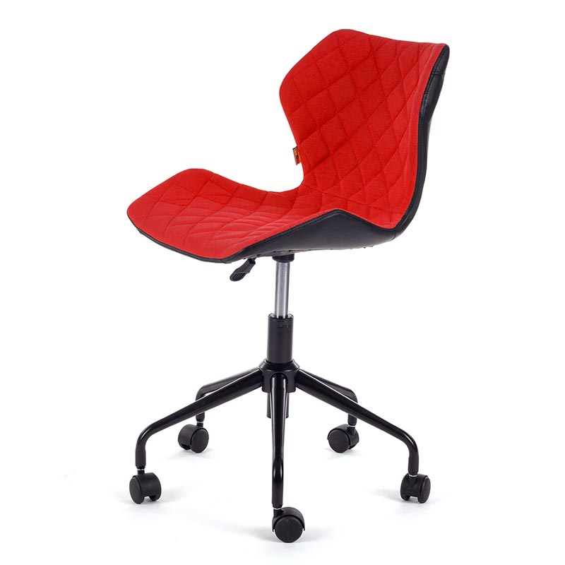 Ino-Arbeitshocker-Drehstuhl-Burostuhl-Arbeitsstuhl-Drehocker-my-sit-rot
